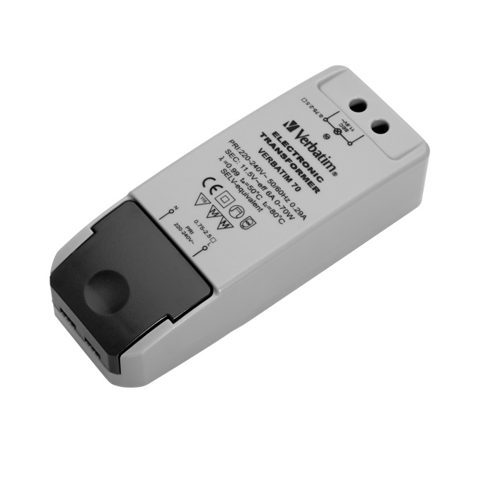 LED захранване Verbatim 52900, 12V AC, 45W, 5.5A, димируемо image