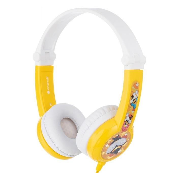 BuddyPhones CONNECT yellow BP-CO-YELLOW-01-K product