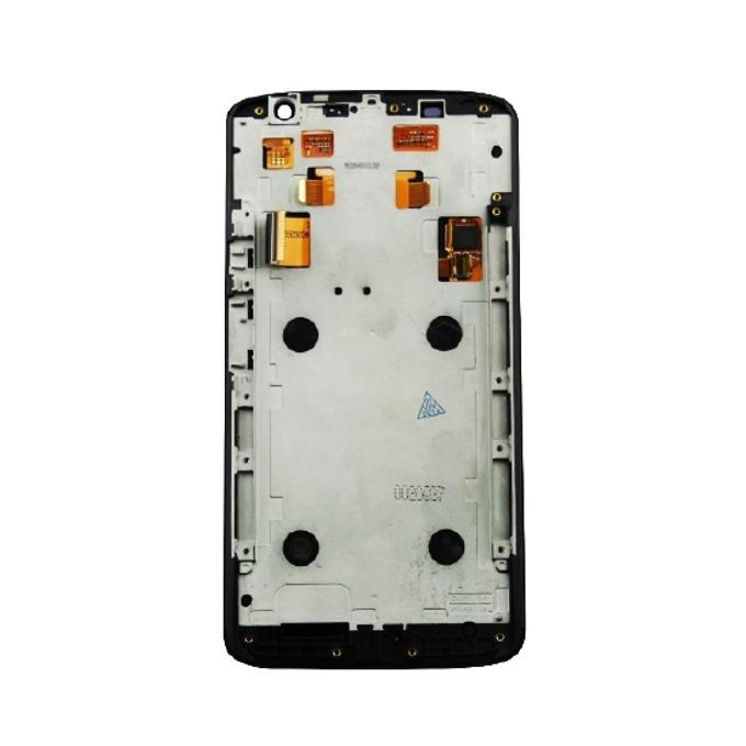 Дисплей за Motorola Moto X Play, с тъч и рамка, черен image