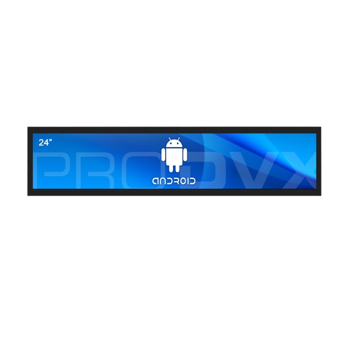 "All in One компютър ProDVX APPC-24UW, четириядрен Cortex A17 1.6 GHz, 24"" (60.96 cm) Full HD (1920x360) LED Display & MALI T764, 2GB DDR3, 16GB Flash ROM, USB 2.0, Android 6.0 image"