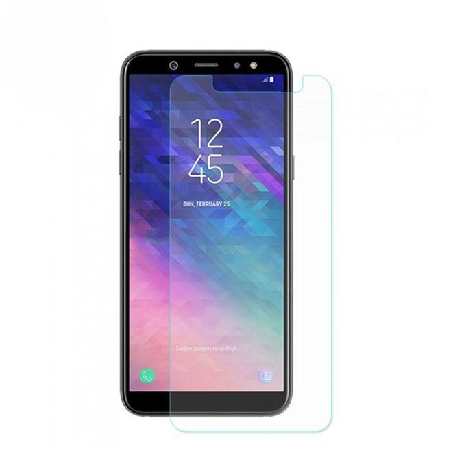 Протектор от закалено стъкло /Tempered Glass/ DeTech за Samsung Galaxy A6 2018, 0.3mm image