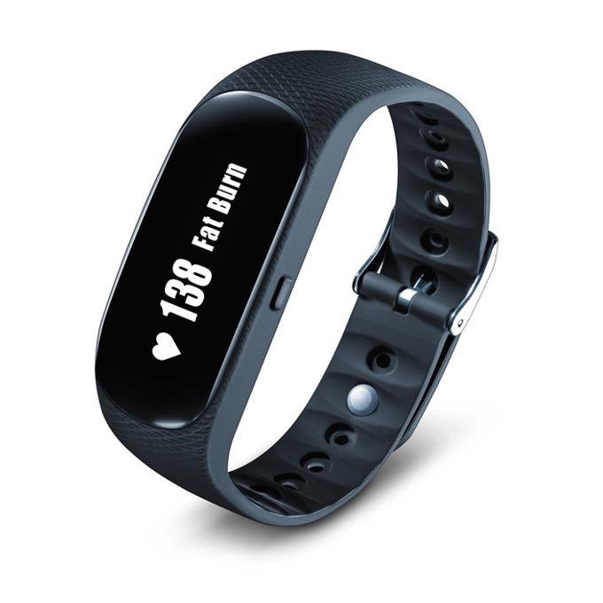 Фитнес гривна Beurer AS95 Pulse, Bluetooth, сензор : за пулс, крачки, изгорени калории, черна image