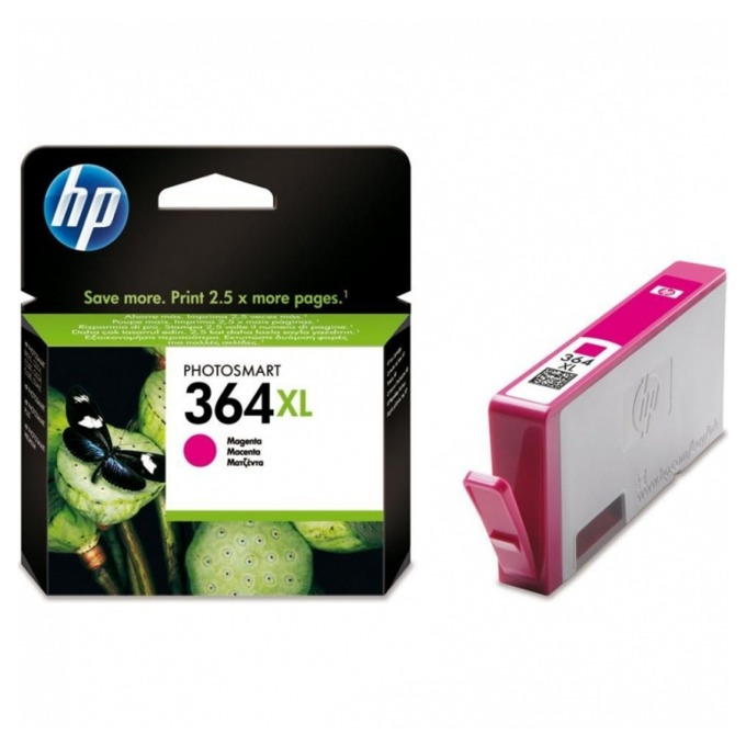 ГЛАВА HP Photosmart C5380/C6380/D5460/Photosmart Pro B8550 - Magenta - (364XL) - P№ CB324EE image