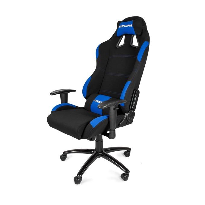 Геймърски стол AKRACING К7012, черно/син image