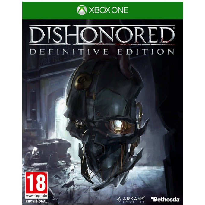 Dishonored: Definitive Edition, съдържа : Dunwall City Trials, The Knife of Dunwall, The Brigmore Witches и Void Walker's Arsenal; за XBOX ONE image