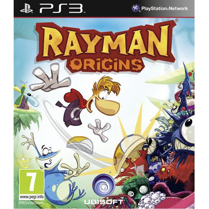 Игра за конзола Rayman Origins, за PlayStation 3  image
