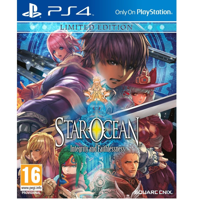 Star Ocean: Integrity and Faithlessness Limited Edition, за PS4 image