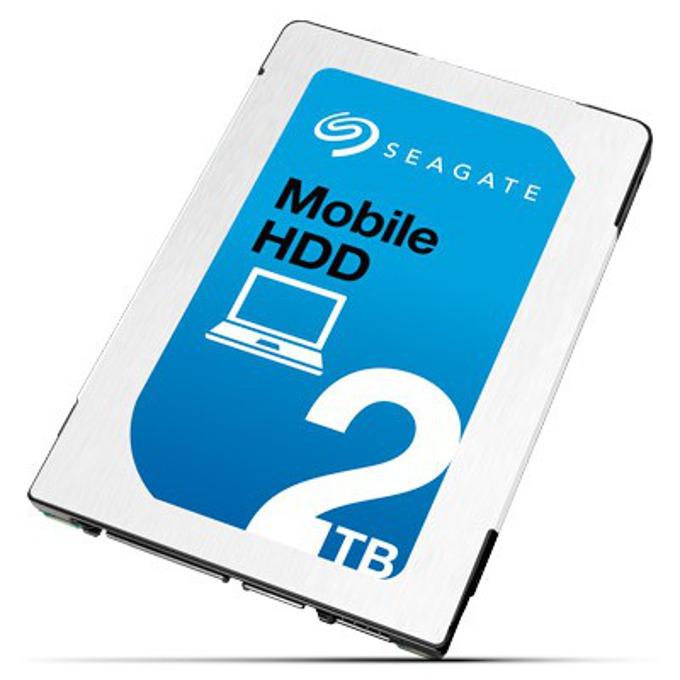 """2TB Seagate Mobile HDD, SATA 6Gb/s, 5400 rpm, 128 MB, 2.5"""" (6.35 cm) image"""