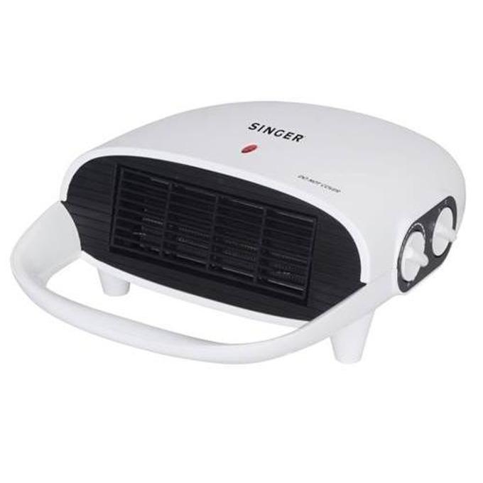 Вентилаторна печка за баня Singer SFH 200, 2 степени на температура, IPХ2, 2000W, бяла image