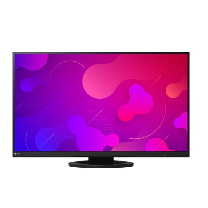 """Монитор EIZO EV2760-BK, 27"""" (68.58 cm) IPS панел, WQHD, 5ms, 350 cd/m2, DisplayPort, HDMI, DVI, 4x USB 3.1 image"""