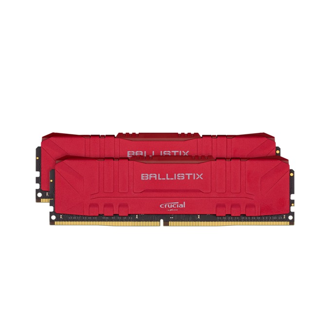 Памет 16GB(2x8GB) DDR4 3200MHz, Crucial Ballistix (Red) BL2K8G32C16U, 1.35V image