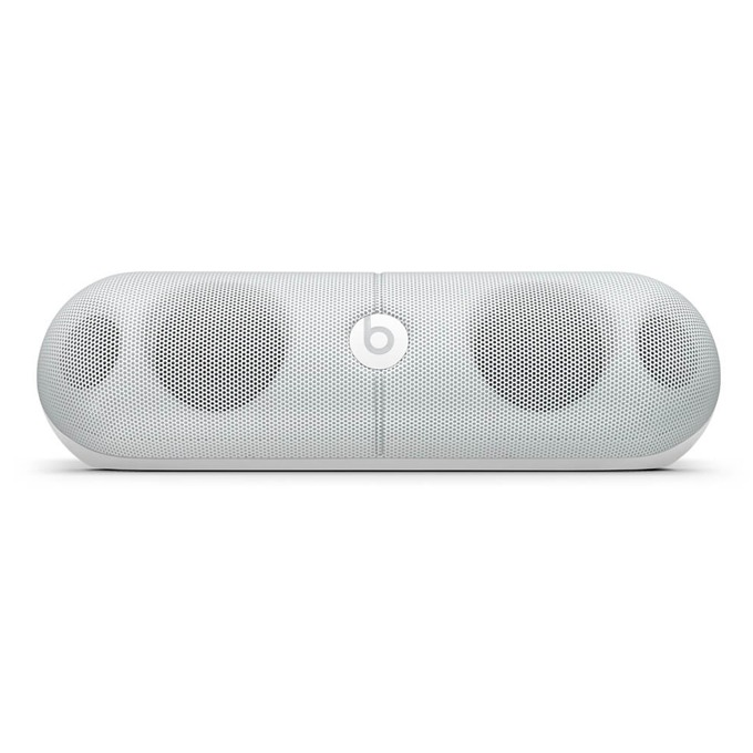 Тонколона Beats by Dre Pill XL Wireless Speaker, 2.0, RMS 6W (3W + 3W), 3,5mm jack/AUX/Bluetooth/USB/SBC/APT-X, бяла, оптимизиранa за iPhone/iPad/iPod image