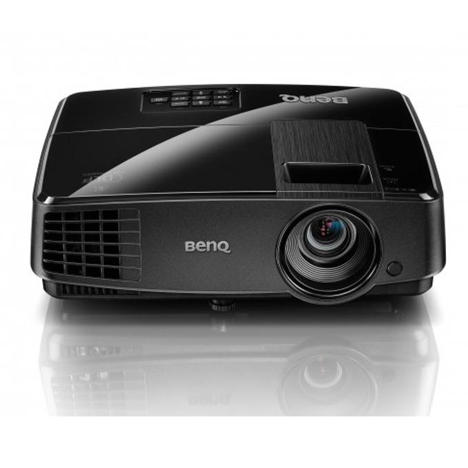 Проектор BenQ MS506, DLP 3D Ready, SVGA (800 x 600), 13000:1, 3200 lumens, Speaker 2W x 1, D-sub, Composite Video, S-Video, USB (Type mini B), RS232 image