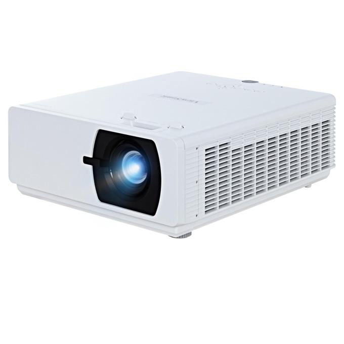 Проектор VIEWSONIC LS800WU,DLP WUXGA(1920x1200), 100000:1, 5500 lm, VGA, HDMI, RS232, RCA, USB, HDBaseT, LAN, бял image