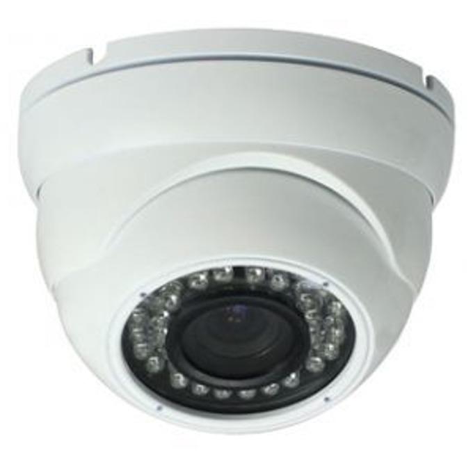 TVI камера irLAN DOD-TVI1080AFSN40, куполна камера, 2MPix(1080p), 2.8-12mm обектив, IR осветеност (до 40 m), за външен монтаж image