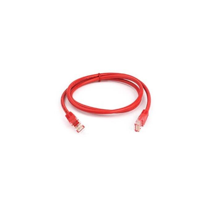 Пач кабел ACnetPLUS, UTP, Cat 5e, 1m, червен image