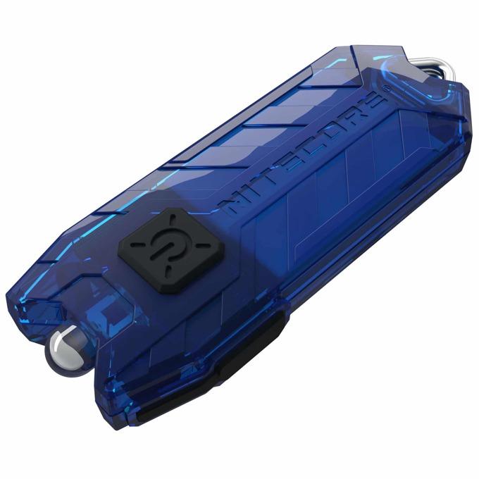Фенер Nitecore Tube, Micro USB вход за зареждане, 45 lumens, джобен, син image
