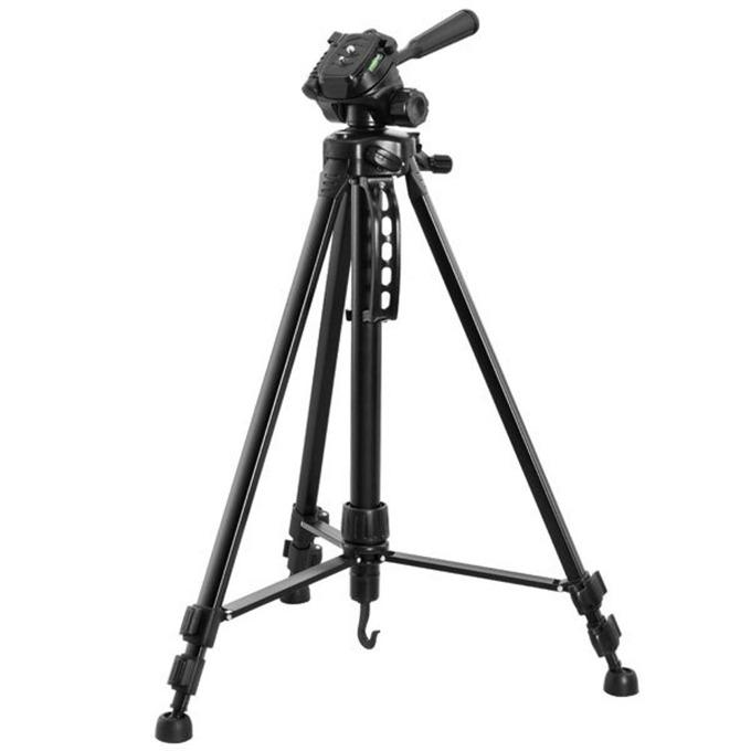 Tрипод Vivanco 30761, мин/макс. височина 55-145см, 3кг товароносимост, алуминиев, черен image