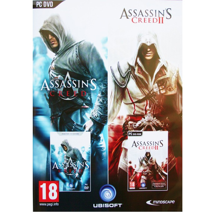 Игра Assassin's Creed 1 & 2, за PC image