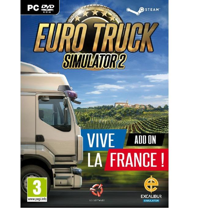 Игра Euro Truck Simulator 2 - Vive la France!, за PC image