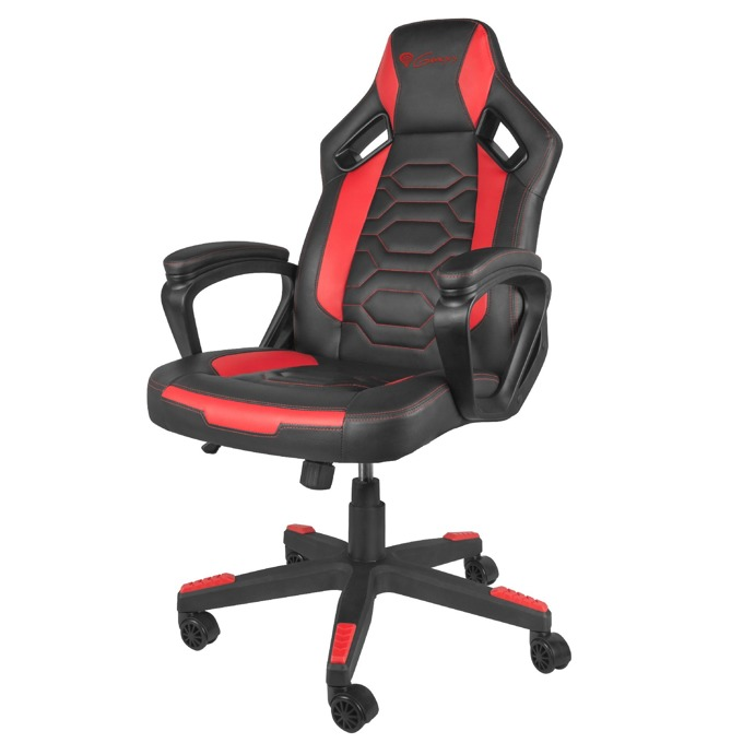 Геймърски стол Genesis Nitro 370, до 150кг, черен/червен image