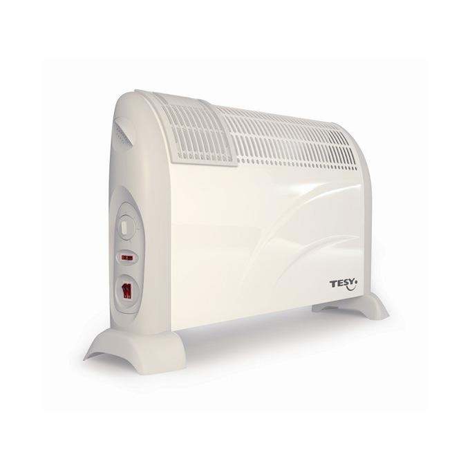 Конвектор Tesy CN 203 ZF, с вентилатор, устройство против замръзване, термостат, 2000W, бял image