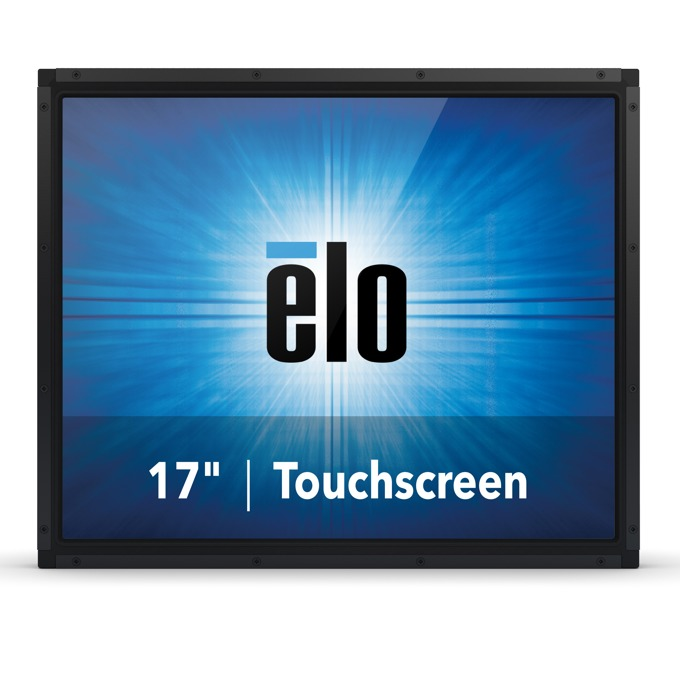 "Монитор ELO E330225, 17""(43.18 cm), TN тъч панел, SXGA, 5ms, 1000:1, 225cd/m2, VGA, DisplayPort, HDMI, черен image"