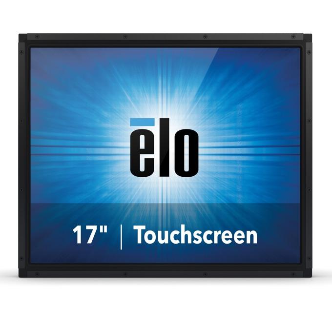 """Монитор ELO E330225, 17""""(43.18 cm), TN тъч панел, SXGA, 5ms, 1000:1, 225cd/m2, VGA, DisplayPort, HDMI, черен image"""