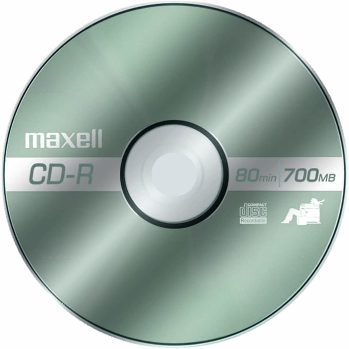 CD-R80 MAXELL 700MB 1 бр