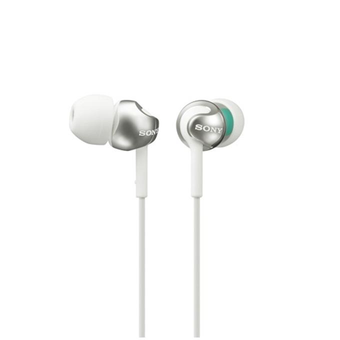 Слушалки Sony MDR-EX110LP, бели image