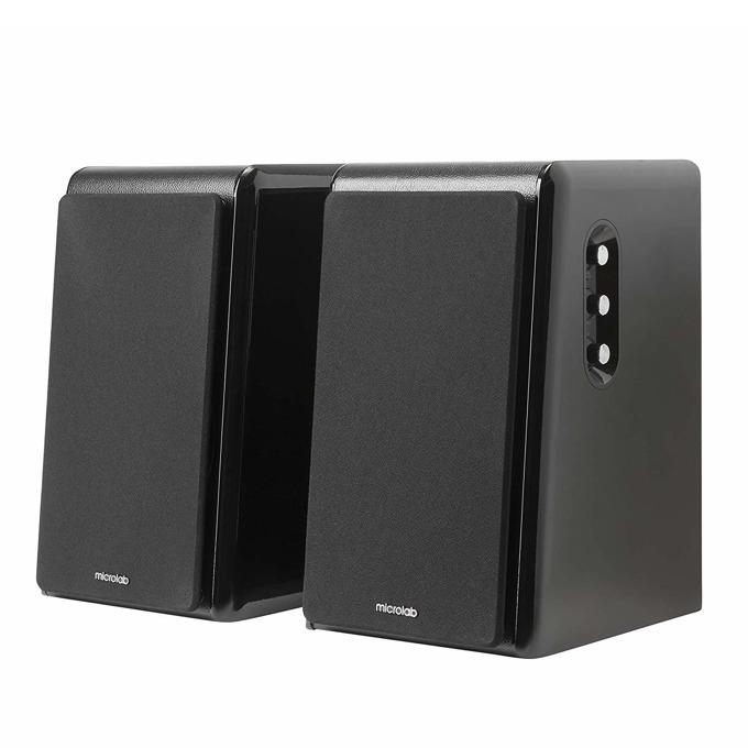 Тонколони Microlab SOLO 16, 180W RMS, Bluetooth, AUX, USB, Toslink, черни image