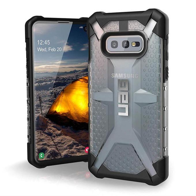 Калъф за Samsung Galaxy S10+, хибриден, Urban Armor Plasma 211333114343, удароустойчив, прозрачен image