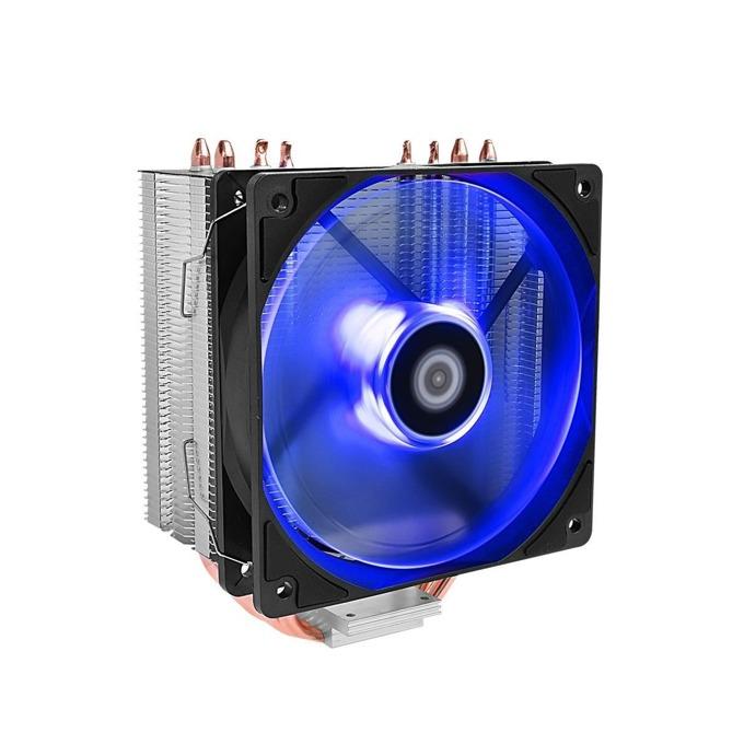 Охлаждане за процесори ID-Cooling SE-224M-B, съвместимост със Intel LGA2066/2011/1151/1150/1155/1156 & AMD AM4 image