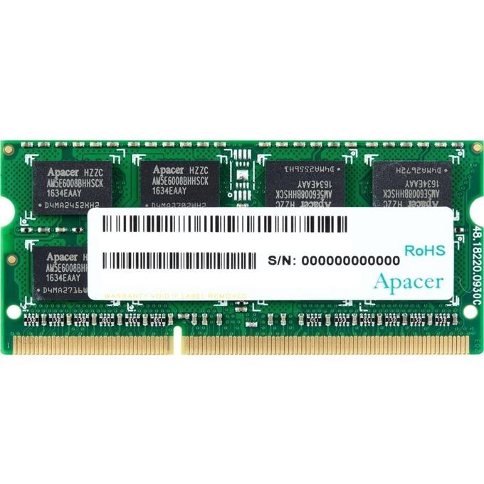 8GB DDR3L 1600MHz, SO-DIMM, Apacer, 1.35V image