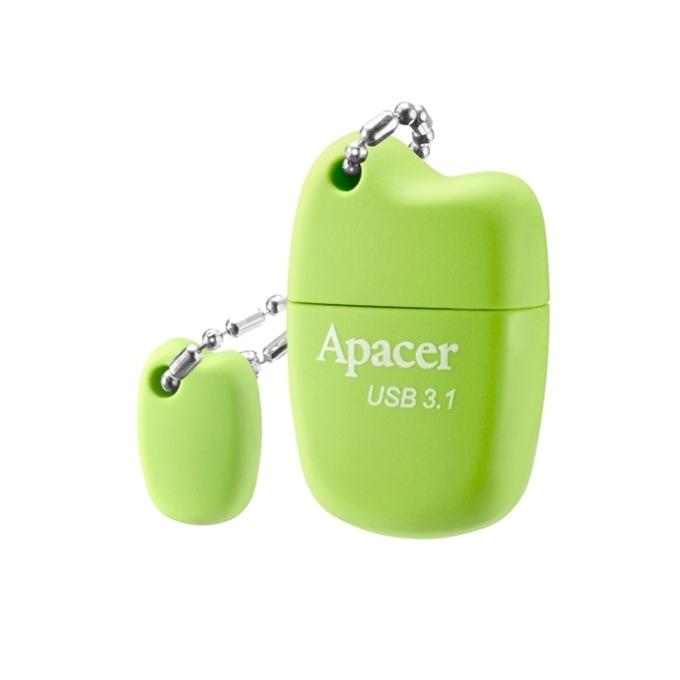 Памет 16GB USB Flash Drive, Apacer AH159, USB 3.1, зелен image