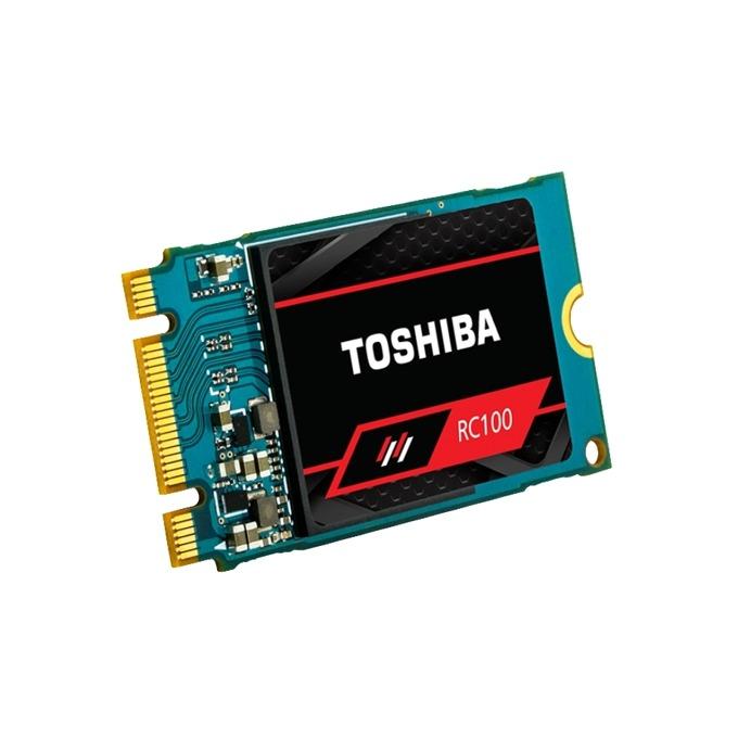 Памет SSD 240GB Toshiba RC100, NVMe, M.2 (2242), скорост на четене 1600MB/s, скорост на запис 1100MB/s image