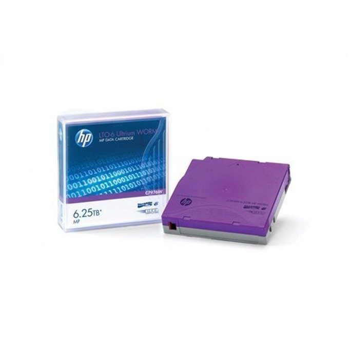 HP LTO-6 Ultrium MP WORM Data Tape