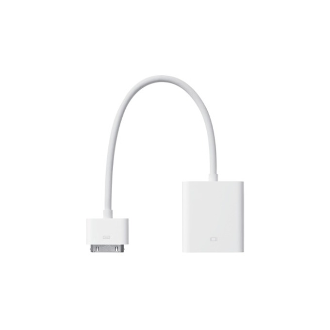 Адаптер Apple iPad Dock Connector към D-Sub(ж),VGA image