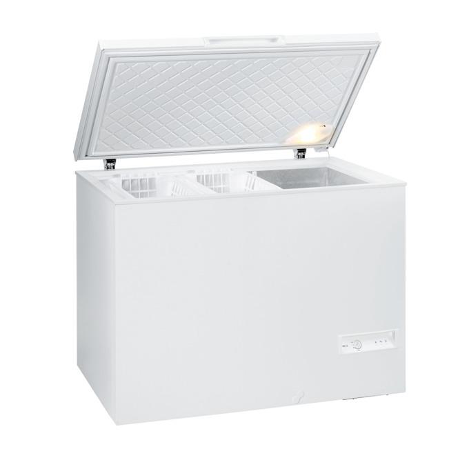 Фризер Gorenje FH 331 W, клас A+, 325 л. общ обем, свободностоящ, 289 kWh/годишно, 1 компресор, електронно управление, FastFreeze, бял image