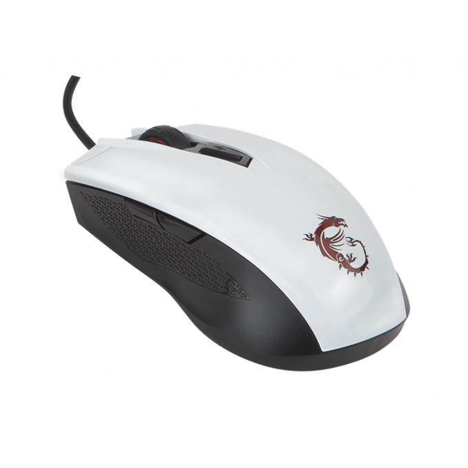 Мишка MSI Clutch GM40, оптична, 5000dpi, USB, бяла image
