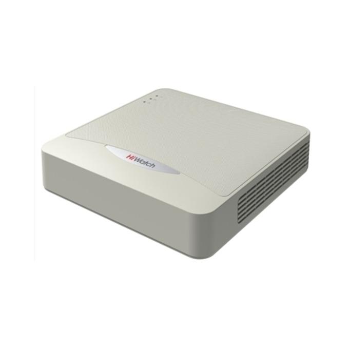 IP видеорекордер HiWatch DS-H108G, 8 канала, H.264+/H.264, 1x SATA, 2x USB, 1x RJ-45, 1x HDMI, 1x VGA image