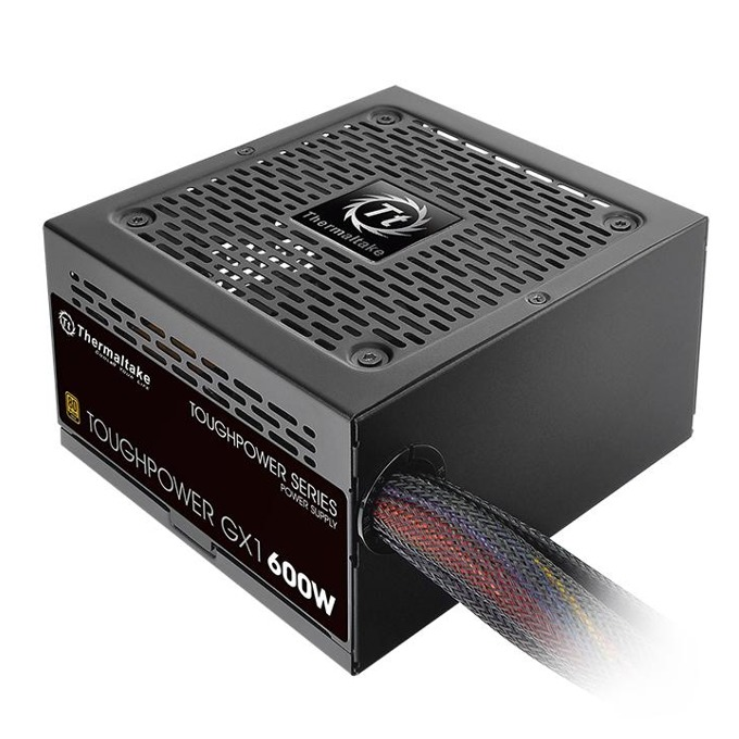 Захранване Thermaltake Toughpower GX1 TPD-0600N, 600W, Active PFC, 80 Plus Gold, 120mm вентилатор image