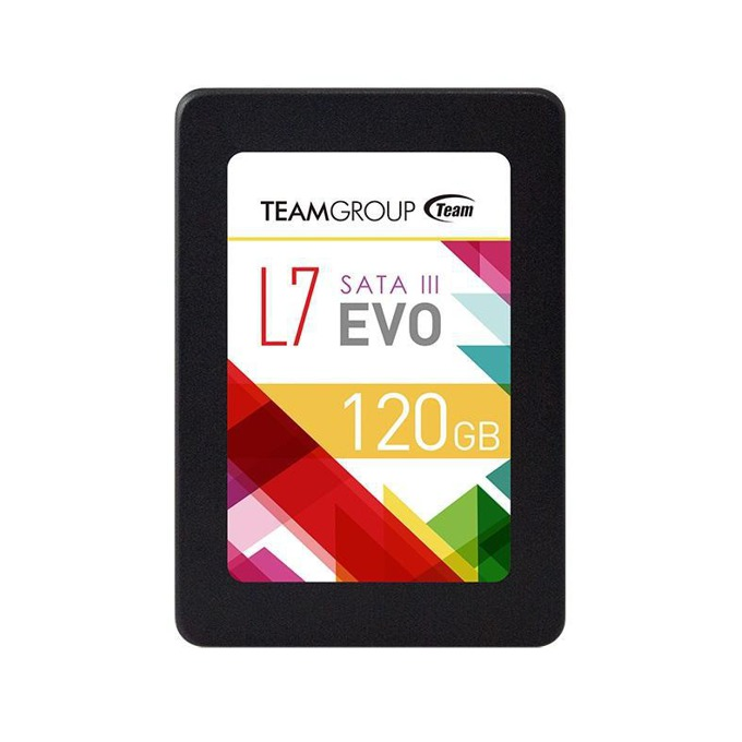 "SSD 120GB Team Group, SATA 6Gb/s, 2.5""(6.35 cm), скорост на четене 460MB/s, скорост на запис 300MB/s  image"