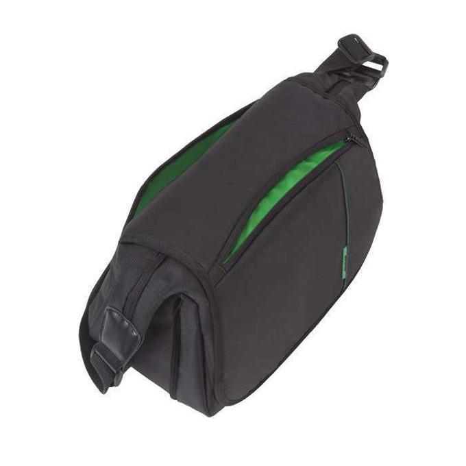 Чанта за фотоапарат Rivacase 7450 (PS) SLR Messenger, за SLR/DSLR фотоапарати, полиестер, черна image