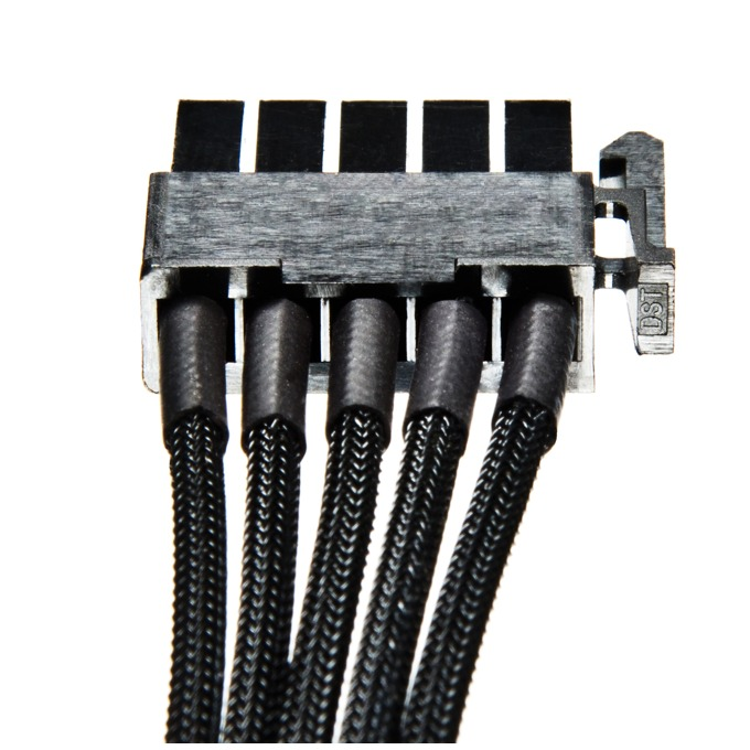 Захранващ кабел Be Quiet BC026, от Sata(м) към 4x Sata(м), HDD-Bay-cable, 0.705m image