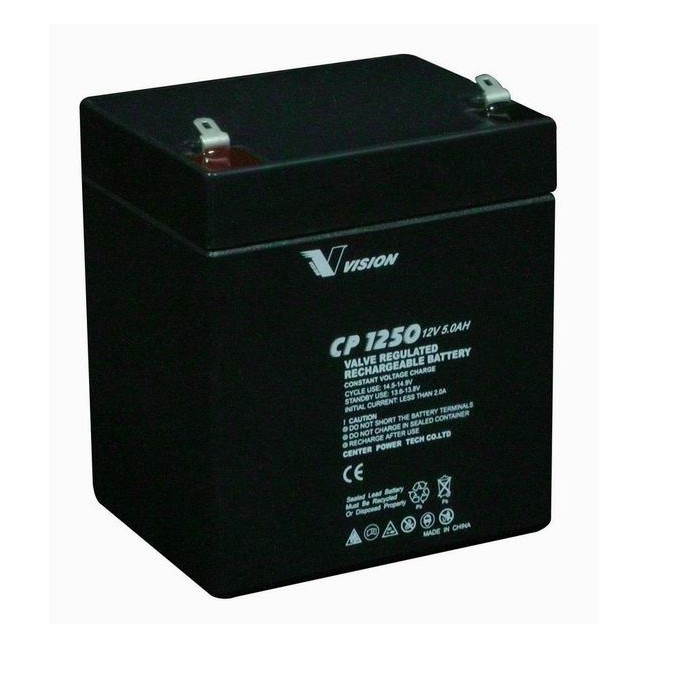 Акумулаторна батерия Vision CP1250HF2, 12V, 5 Ah, VRLA image