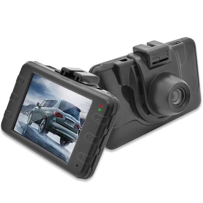 "Видеорегистратор Ednet EDN87231, камера за автомобил, HD, 2.4"" (6.10 cm) LCD дисплей, micro SD card слот image"