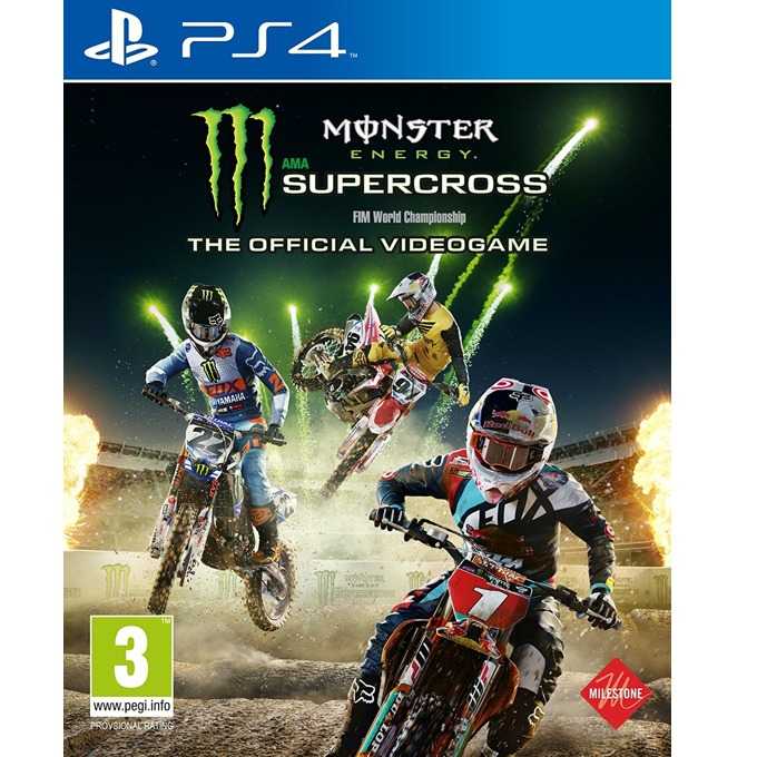 Игра за конзола Monster Energy Supercross - The Official Videogame, за PS4 image