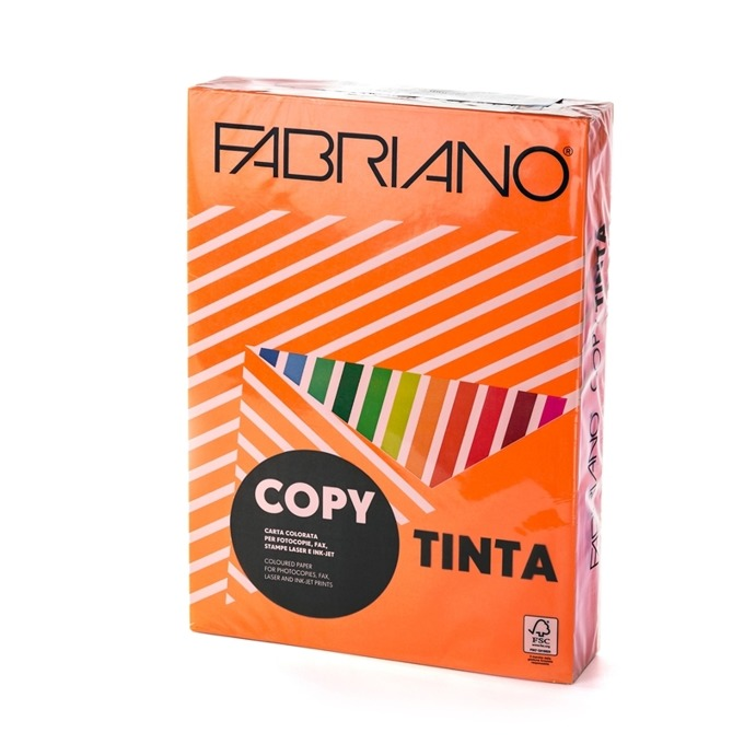 Fabriano A4, 160 g/m2, оранжев, 250 листа product