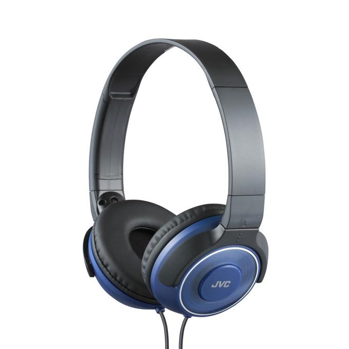 Слушалки JVC HA-S220, 3.5 жак, сини image